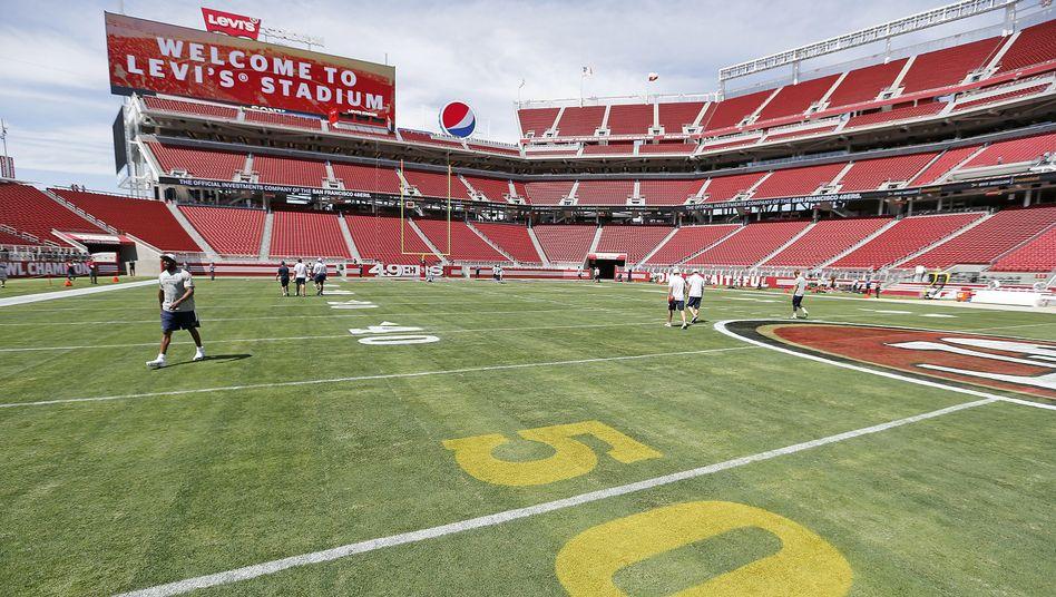 """Levi's Stadium in Santa Clara: """"Die NFL hat ganz offensichtlich mehr Geld"""""""