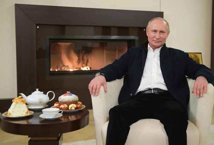 Putin bei seiner Osteransprache