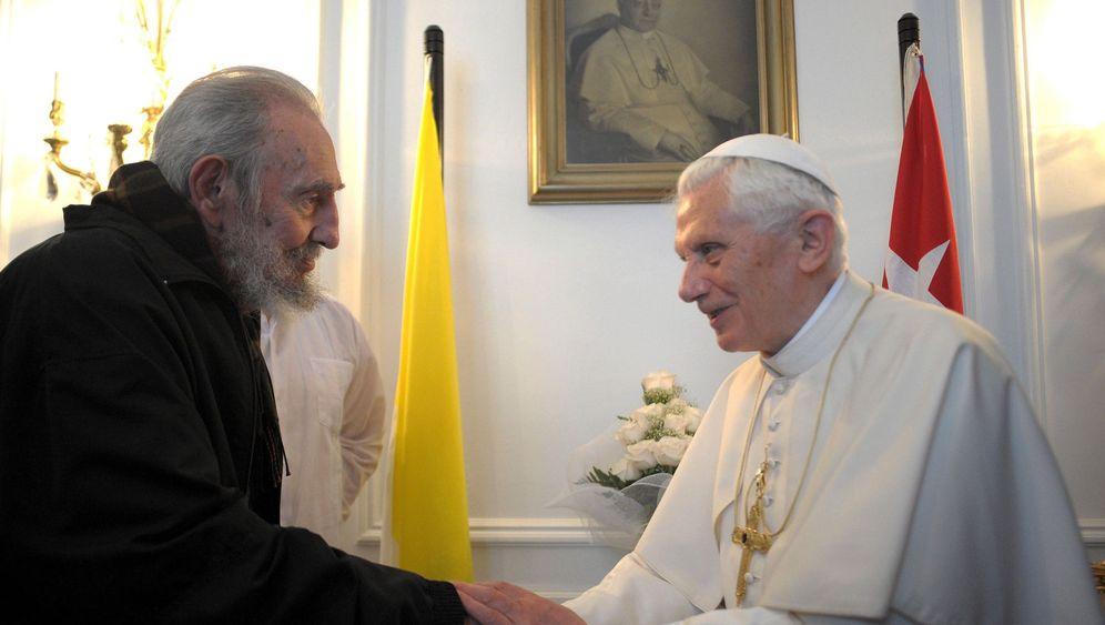 Papstbesuch auf Kuba: Fidel bittet Benedikt um ein paar Minuten