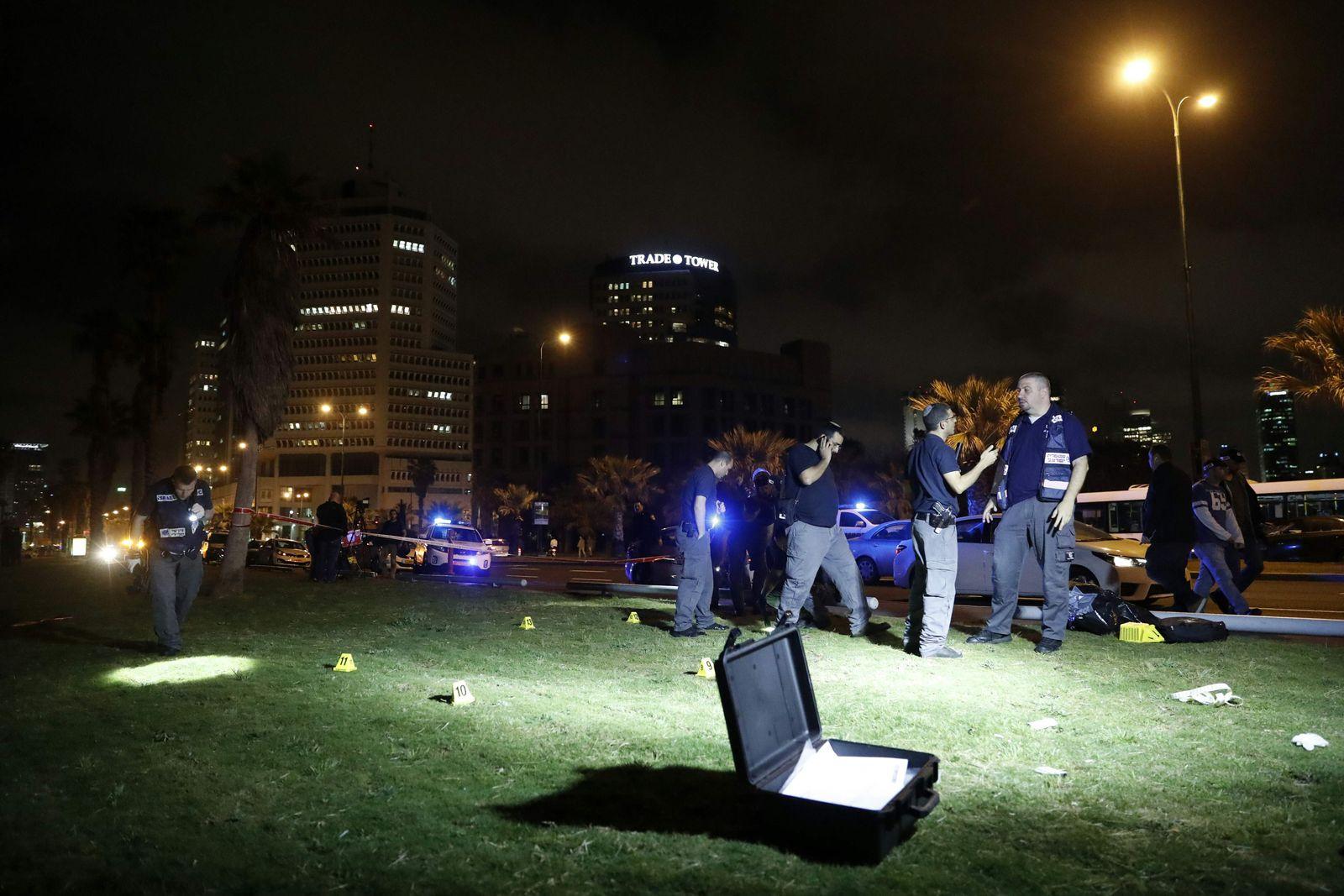 Tel Aviv: Messerattacke am Hafen