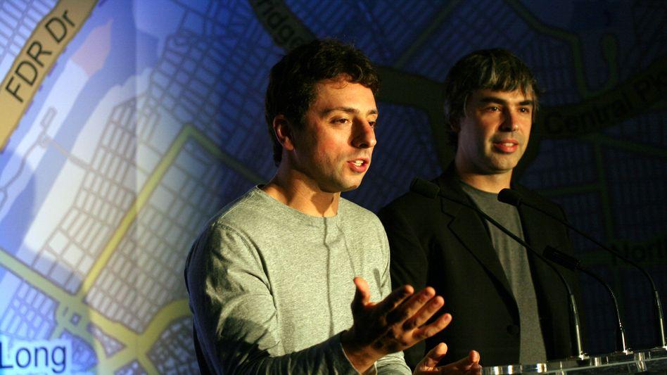 Google-Gründer Brin, Page: Unterschiedliches filmisches Potential