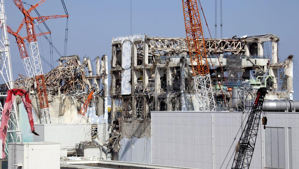 AKW Fukushima: Strahlende Gefahr im Abklingbecken