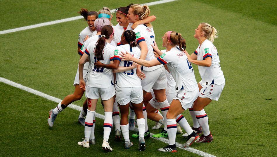 Die USA gewannen die vergangene WM 2019 in Frankreich
