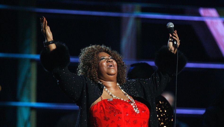 Aretha Franklin im Oktober 2009