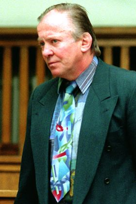 Hugo Lacour vor der Urteilsverkündung 1997: Er will seine Unschuld beweisen
