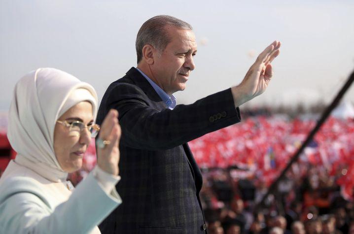 Präsident Erdogan in Istanbul