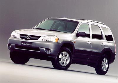Off-Roader für die Strasse: Der Mazda Tribute begnügt sich auch mit dem Gehsteig als Gelände