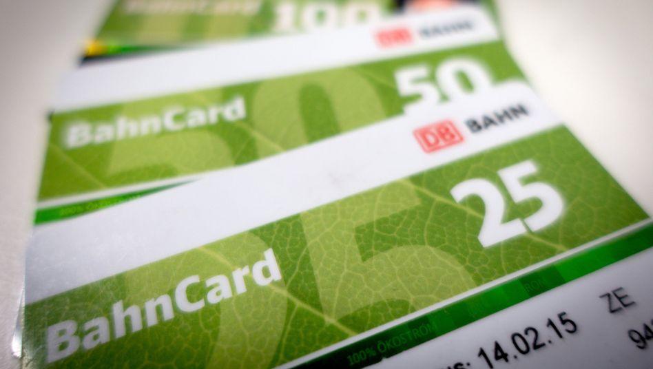 Marketing-Wahnsinn BahnCard: 87 Prozent aller Fahrten sind rabattiert