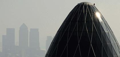 Finanzdistrikt in London: Beinahe-Crash des Bankensystems