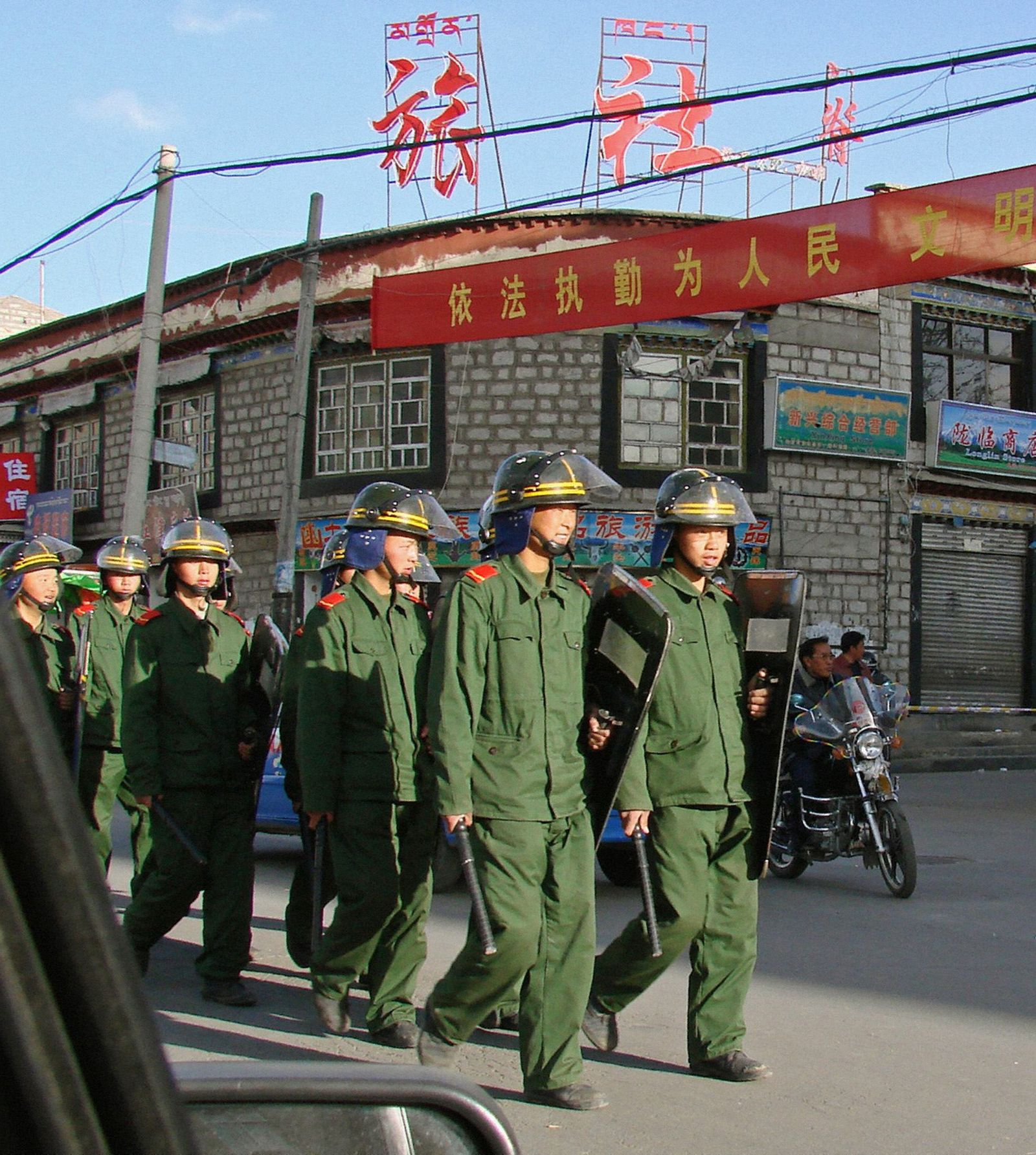 Tibet Proteste
