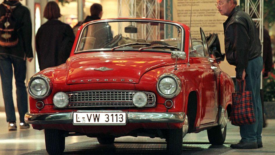 Wartburg Cabriolet Typ 311: In der DDR kostete der Wagen damals 16.370 Ost-Mark