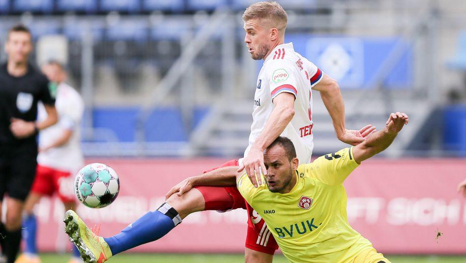 Simon Terodde erzielte bislang sechs Treffer in dieser Saison