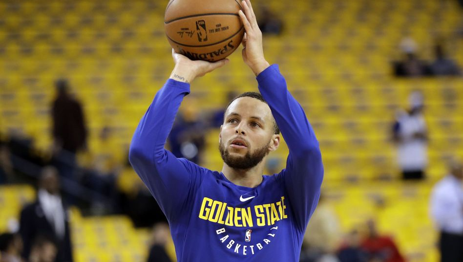 Golden-State-Star Stephen Curry