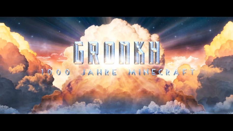 """Screenshot aus dem Intro eines Gronkh-Videos: Der """"Let's Player"""" zählt zu den erfolgreichsten Videomachern und wurde mit einem Webvideopreis ausgezeichnet"""