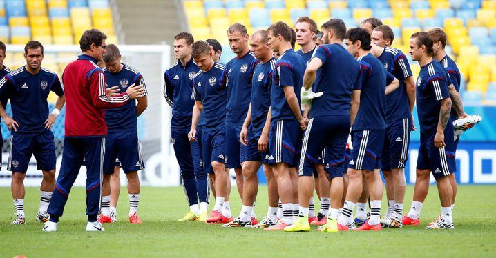 Fabio Capello bei der russischen Nationalmannschaft