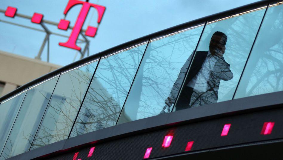 Die Zentrale der Deutschen Telekom in Bonn: Die Telekom freut sich über gestiegenen Gewinn