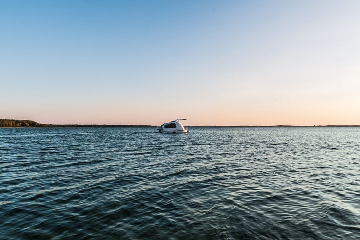 Der Sealander ist eine Art mobile Insel