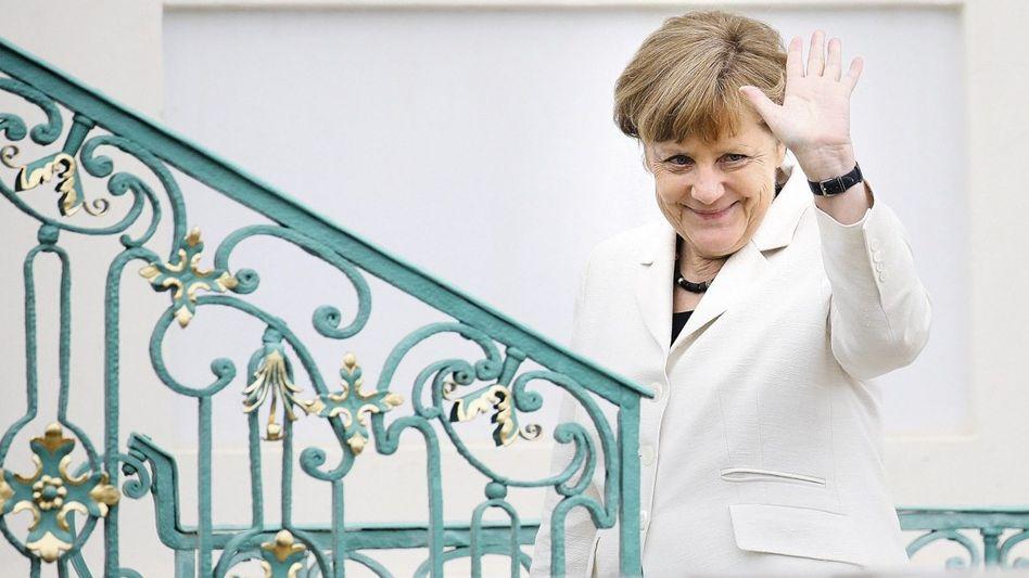 CDU-Chefin Merkel: Kein Eintrag ins Goldene Buch