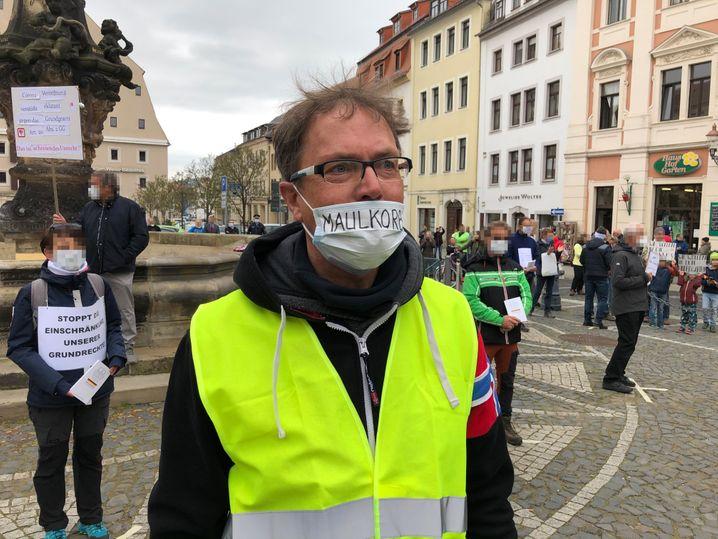 """Steffen Golembiewski in Zittau: """"Was passiert hier?"""""""