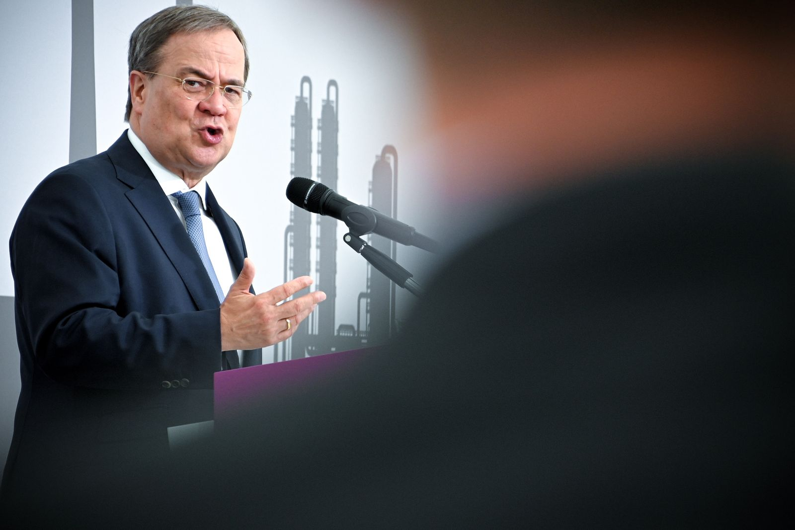 German CDU party leader Laschet opens world's largest polyamide 12 plant at Marl Chemical Park