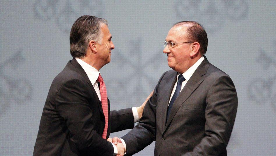 UBS-Chef Ermotti, neuer Präsident Weber: Aktionäre kritisieren hohe Gehälter