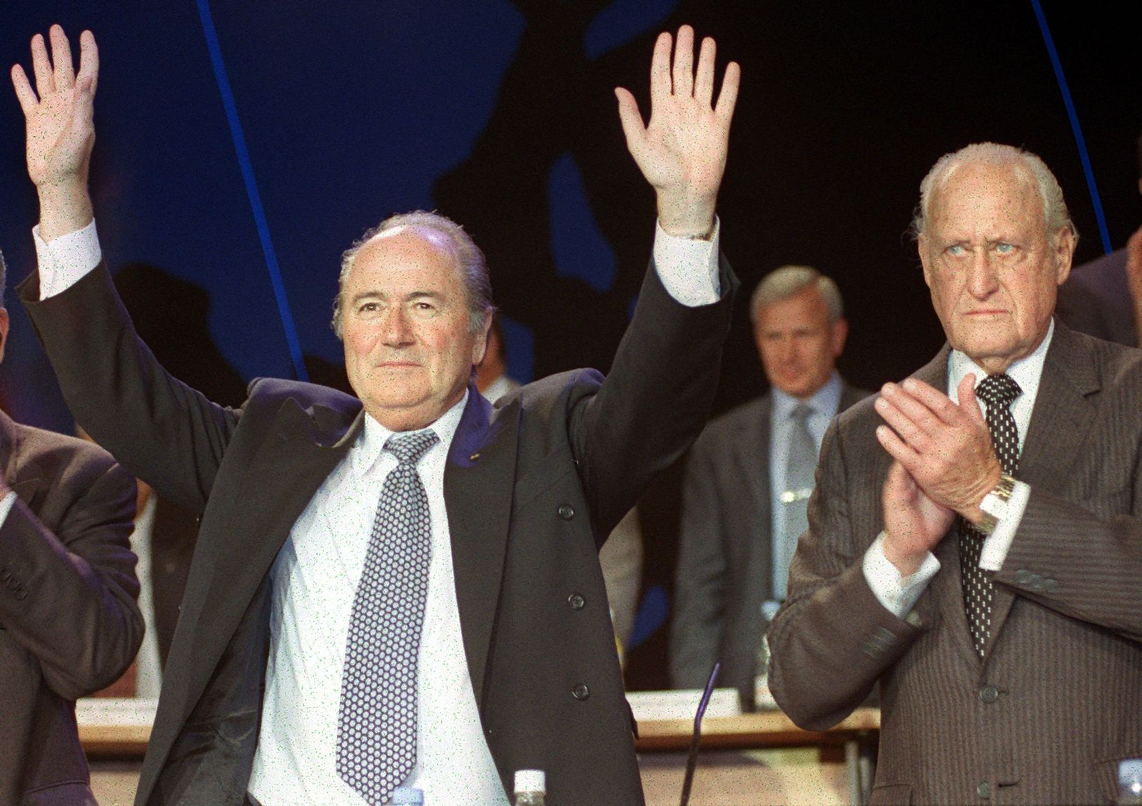 1998 - Joseph Blatter und Havelange