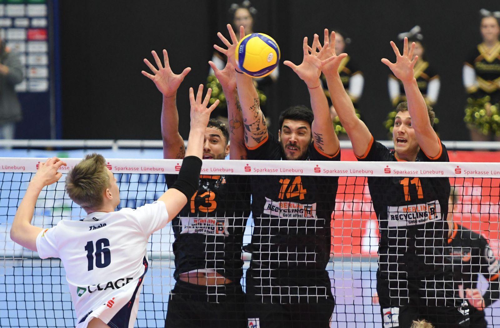 Volleyball - Bundesliga - SVG Lüneburg - Berlin Recycling Volleys