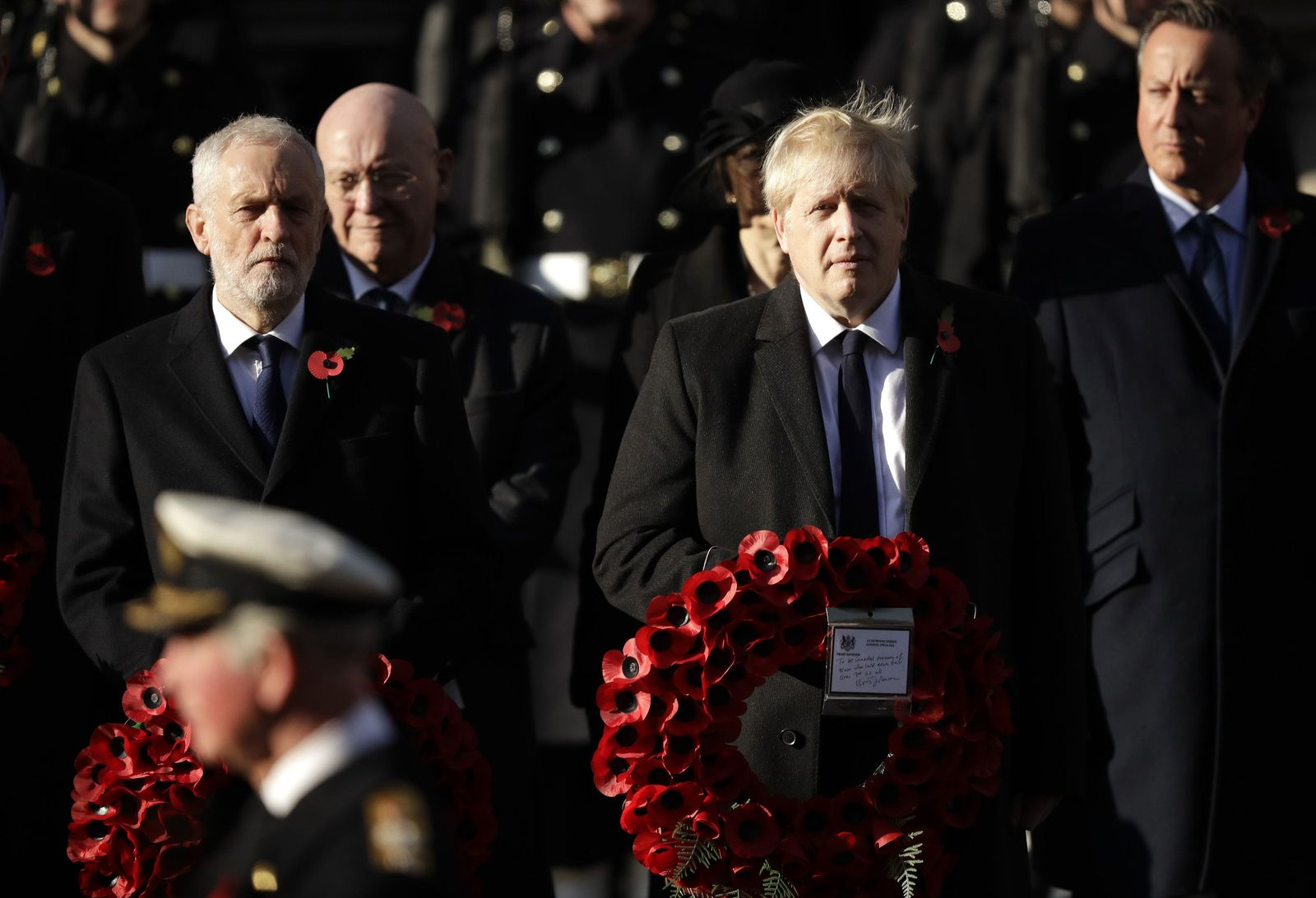 Britain Remembrance Sunday - Lage