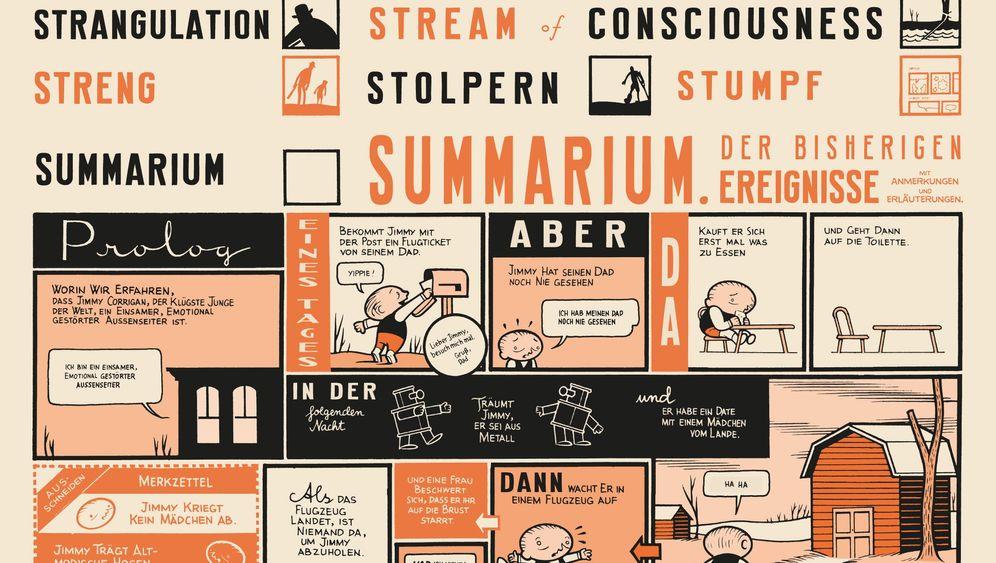 """Comic-Roman """"Jimmy Corrigan"""": Vom Lesen und Fühlen der Bilder"""