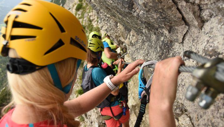 Lieblingsklettersteige von Kurt Schall: Mauerläufer und Salewa