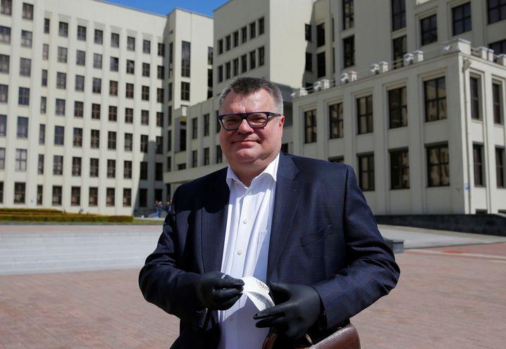 Wiktor Babariko, Ex-Bankchef, der Lukaschenko herausfordern will