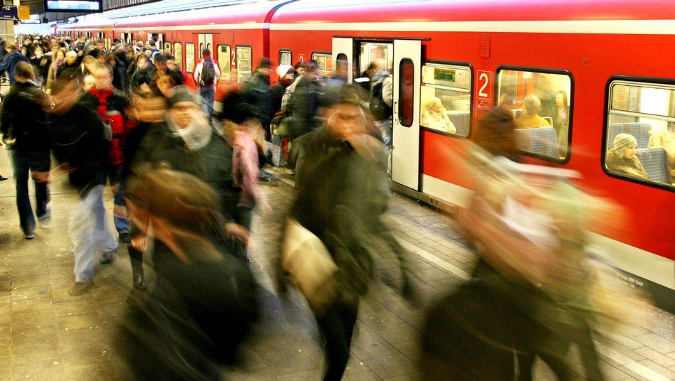 Im vergangenen Jahr sind die Fahrgastzahlen weniger gestiegen als in den Vorjahren