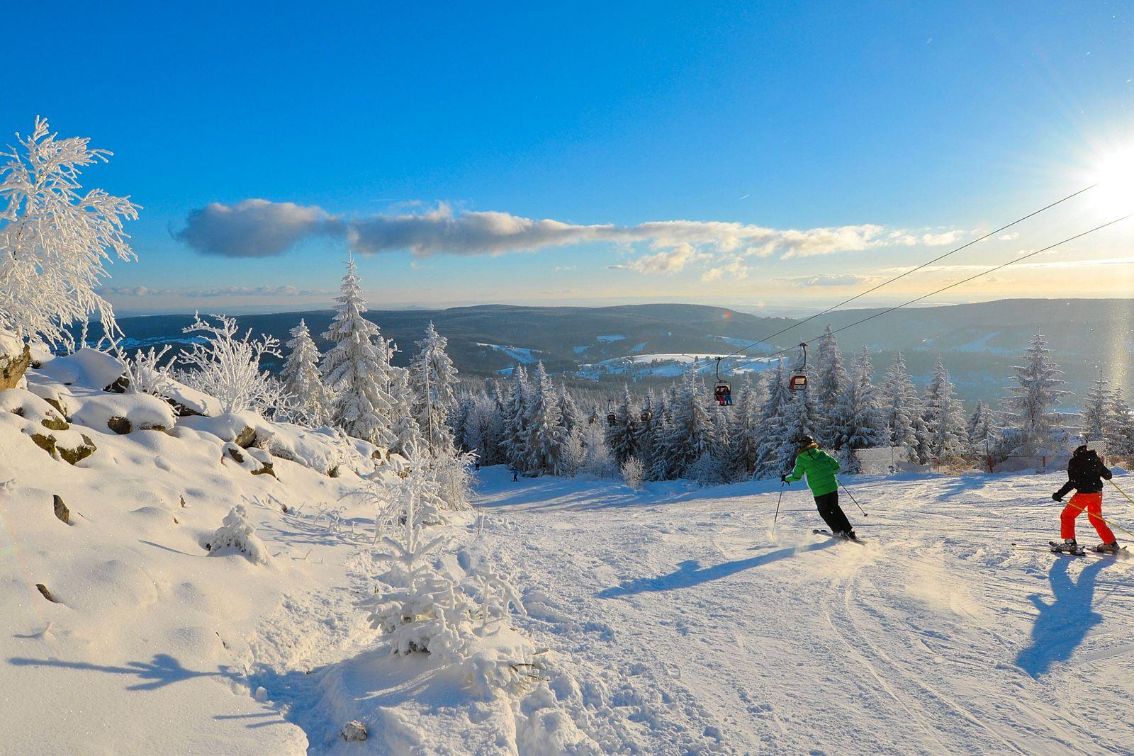 wintersportgebiet,ochsenkopf *** ski area,ox head km5-iyk