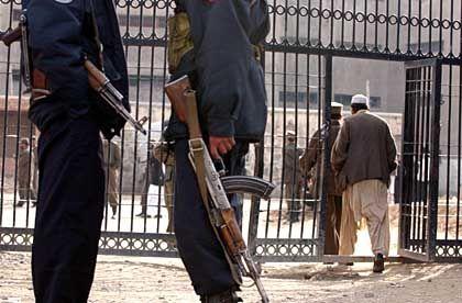 Gefängnis in Kabul (Archivbild): In eine Haftanstalt dieser Art soll Masri verschleppt worden sein