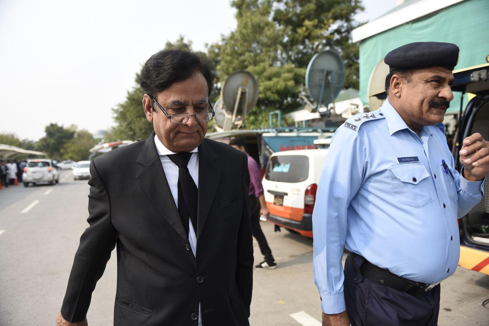Asia Bibi/ Anwalt/ Pakistan