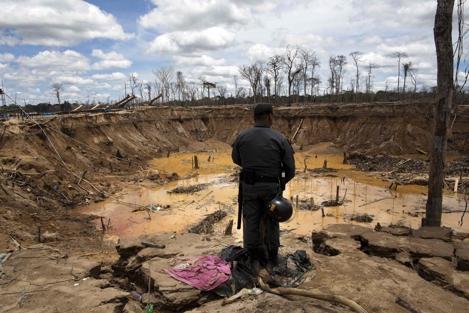Umweltzerstörung / Peru
