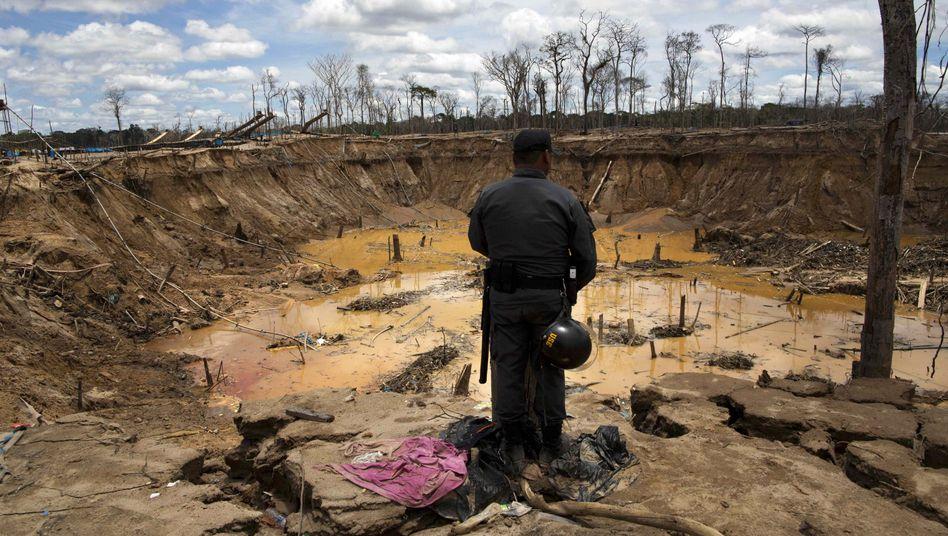Umweltzerstörung durch illegalen Bergbau in Peru: Der Mensch treibt die Erde an ihre Grenzen
