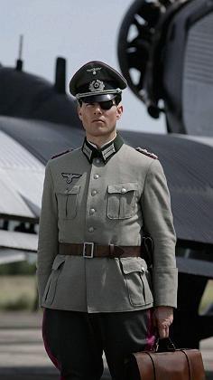 Tom Cruise plays Claus Schenk Graf von Stauffenberg in the movie.