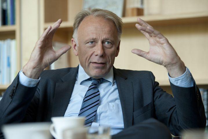 Jürgen Trittin, Fraktionschef von Bündnis 90/Die Grünen im Bundestag