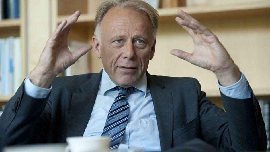 """Grünen-Fraktionschef Trittin: """"Die SPD muss Angst vor einer Großen Koalition haben"""""""