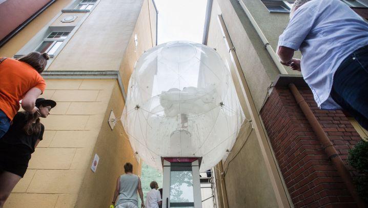 Andere Wohnform: Mein Zimmer ist ein Ballon