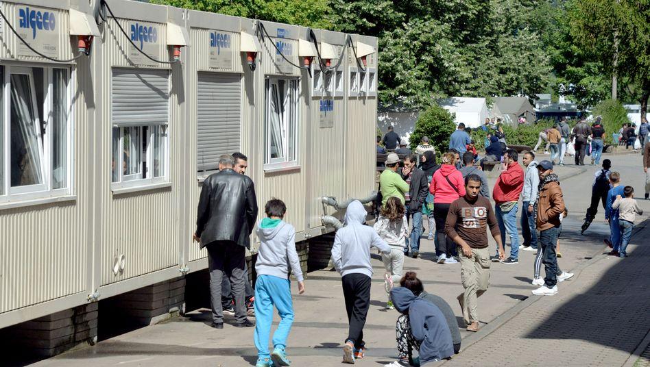"""Bewohner einer Auffangeinrichtung für Asylbegehrende: """"Kleiner Mosaikstein"""""""