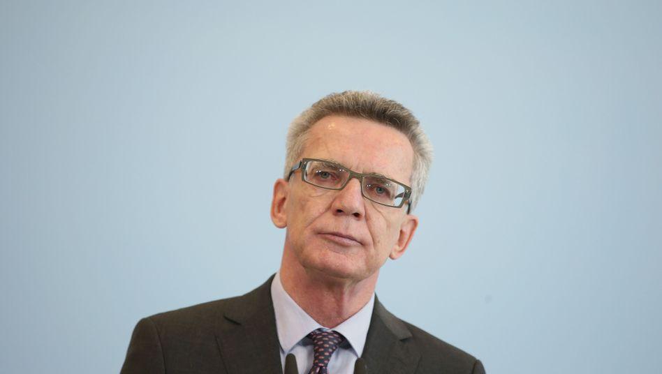 Innenminister Thomas de Maizière: Union und SPD haben Einigung erzielt