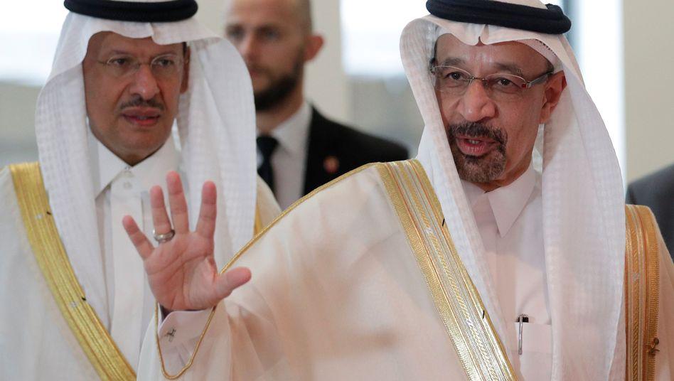 Saudischer Ölminister Khalid al-Falih