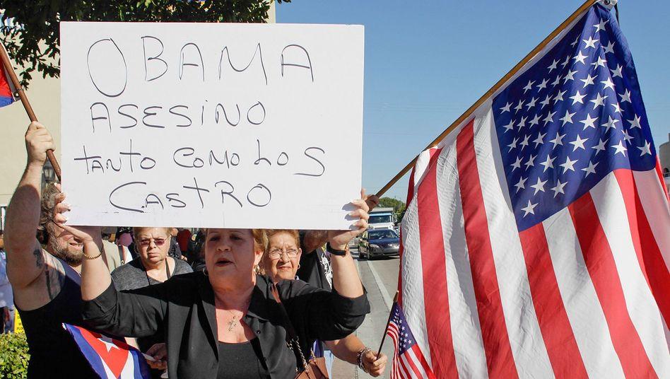 Streit über Annäherung: Republikaner wüten gegen Obamas Kuba-Kurs