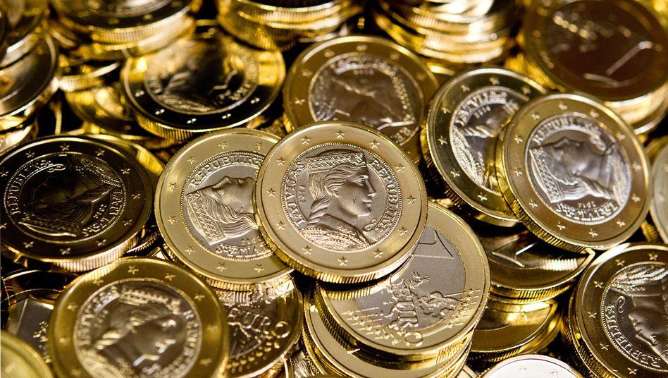 Neue lettische Euro-Münzen: Politik ganz auf den Wechselkurs ausgerichtet