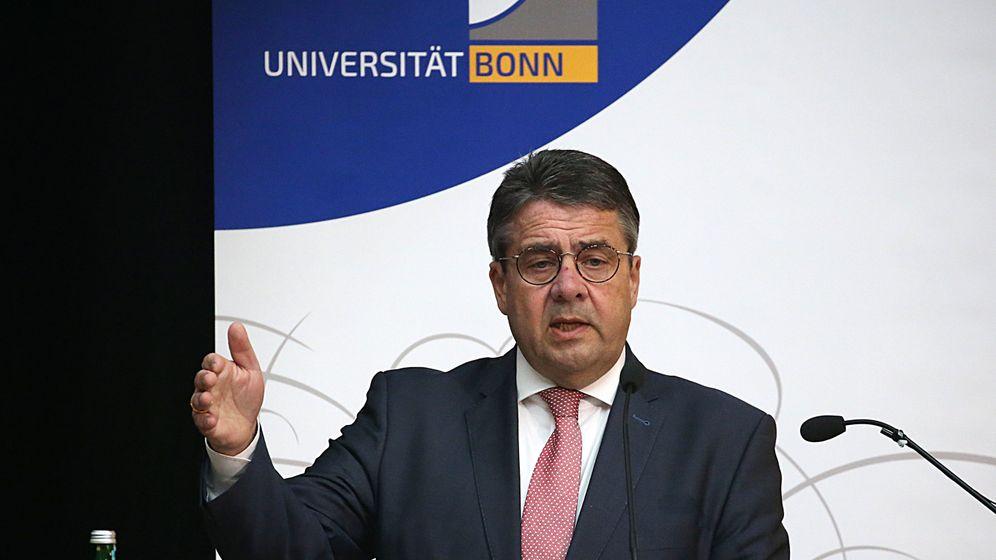 Sigmar Gabriel: Von der Regierungsbank in die Uni