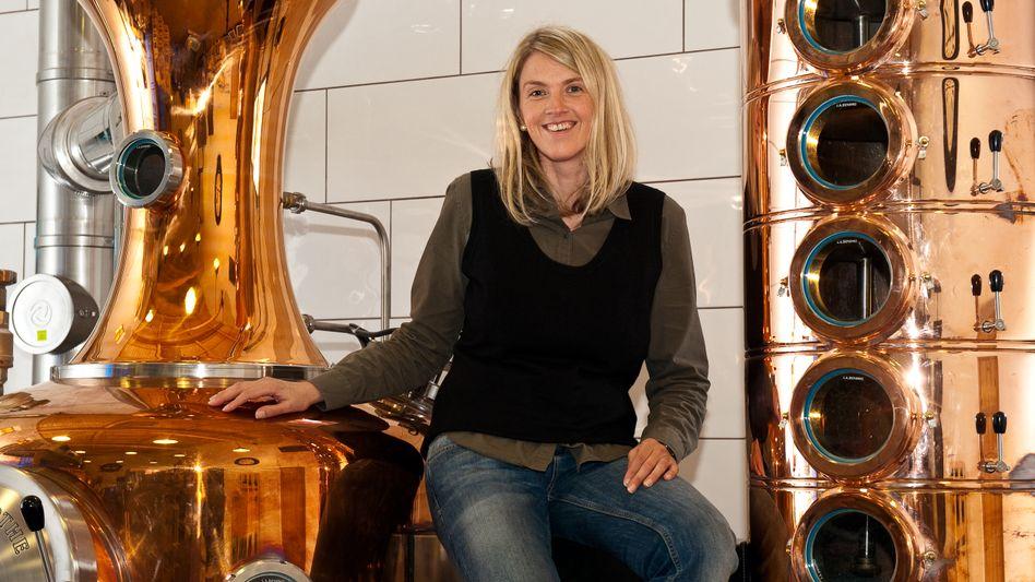 Likörproduzentin Petra Waldherr-Merk