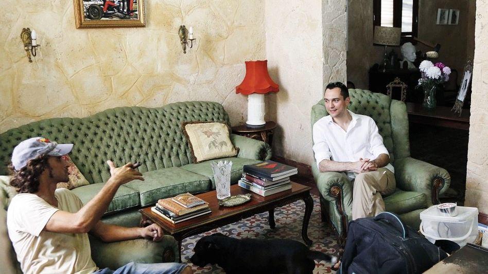 Unternehmer Blecharczyk (r.), Vermieter auf Kuba: Den Tourismus demokratisieren