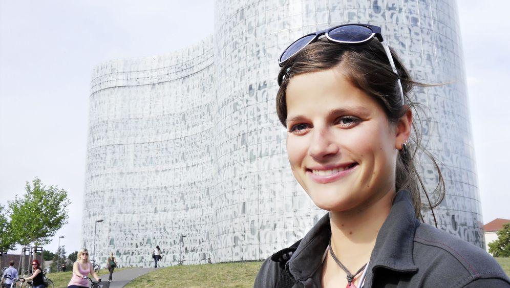 Mountainbikerin Steffi Marth: Platz da, hier komm' ich